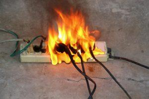 Residential Electrical fire